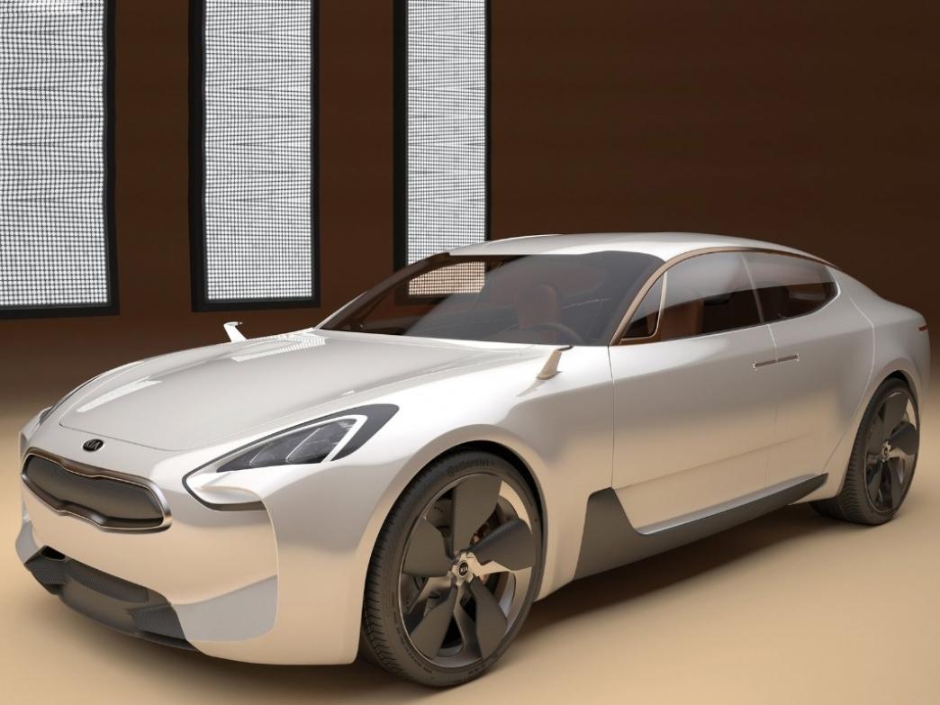 El KIA GT se llevará a producción en 2016