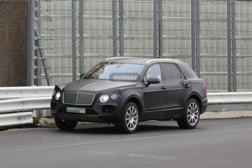 El SUV de Bentley rueda en Nürburgring