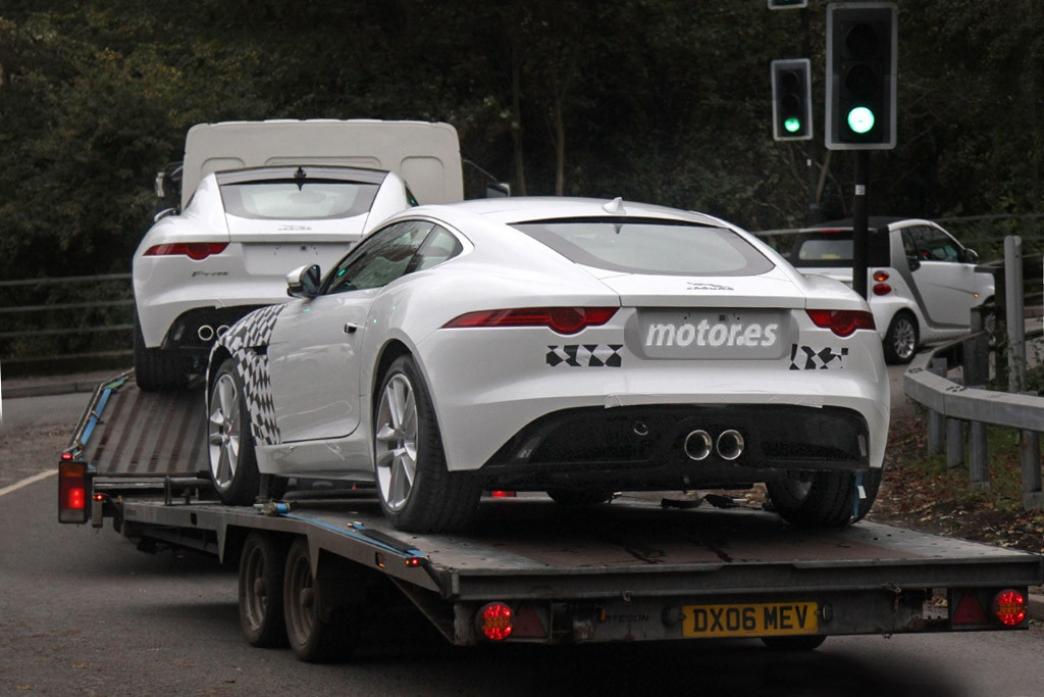 Jaguar F-Type con tracción total, nuevos motores y cambio manual