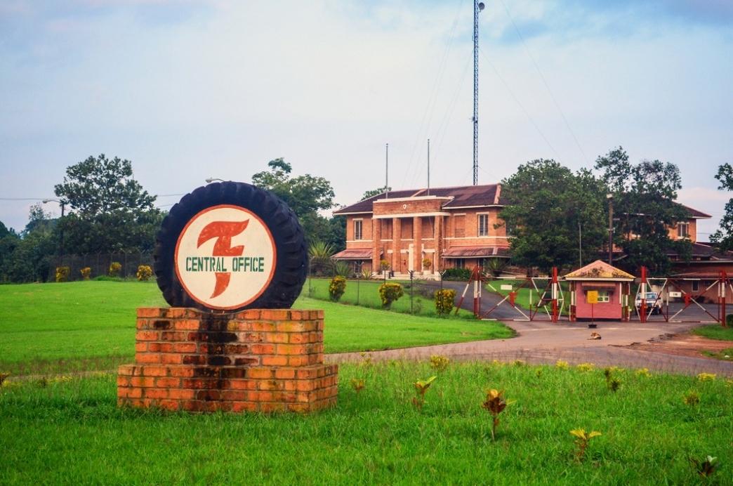 La lucha contra el ébola de Firestone en Liberia