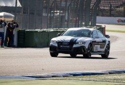 Así es como el RS7 da una vuelta rápida en el circuito de Hockenheim