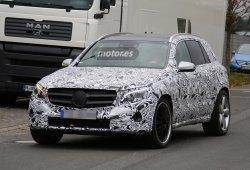 Descubierto el Mercedes GLC 63 AMG