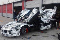 Descubierto otra vez la Ferrari LaFerrari XX, esta vez de cerca