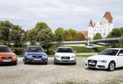 El Audi A4 cumple 20 años: su nueva generación llegará en 2015
