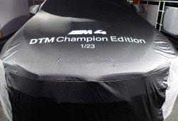 El BMW M4 DTM Champion Edition está listo para su presentación