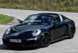 El facelift del Porsche 911 Targa está en marcha