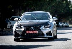 El Lexus RC F ya rueda por las carreteras españolas