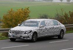 El Mercedes S600 Pullman inicia su fase de pruebas en formato XXL