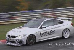 El misterioso BMW M4 GTS rueda en Nürburgring