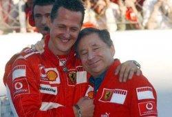 Jean Todt, con la mente dividida entre Schumacher y Bianchi