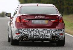 Lexus GS F, últimas pruebas antes de presentarse