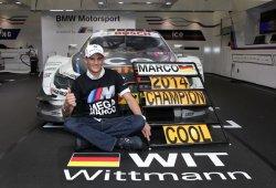Marco Wittmann probará con Toro Rosso como premio de BMW por ganar el DTM