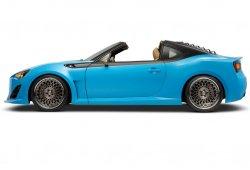 Scion FR-S Targa: El Toyota GT86 turbo y cabrio llega al SEMA