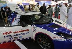 Un Lotus Evora convertido en ambulancia en Dubái