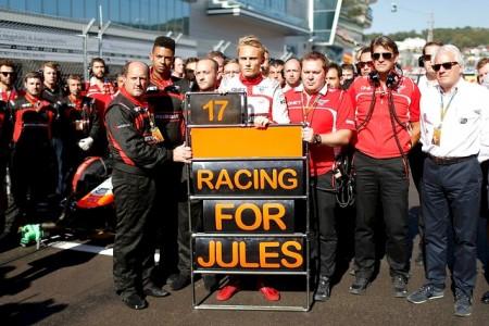 Jules Bianchi sale del coma artificial y es trasladado a Niza