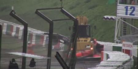 Vídeo del accidente de Bianchi en el GP de Japón 2014
