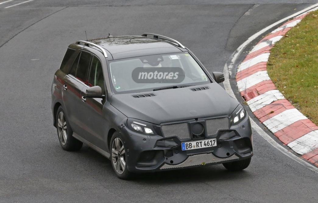 Pillamos el Mercedes ML/GLE Plug-In Hybrid
