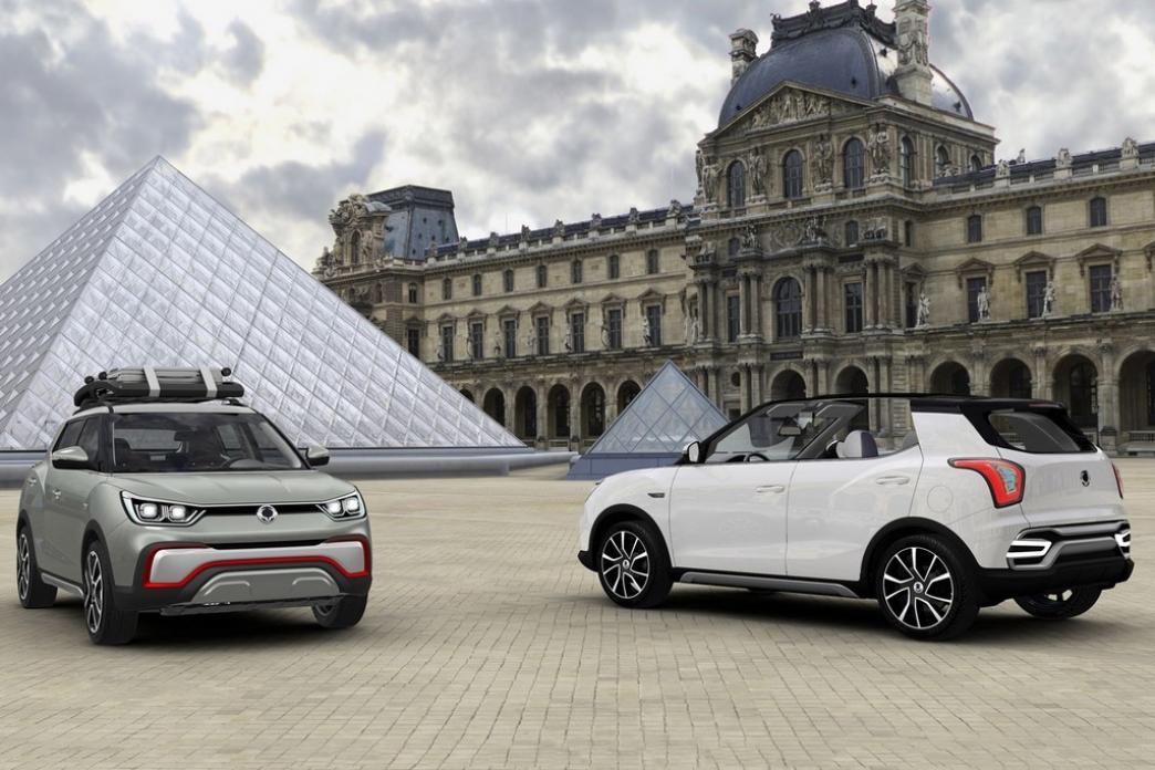 SsangYong XIV Air y Adventure presentados en París