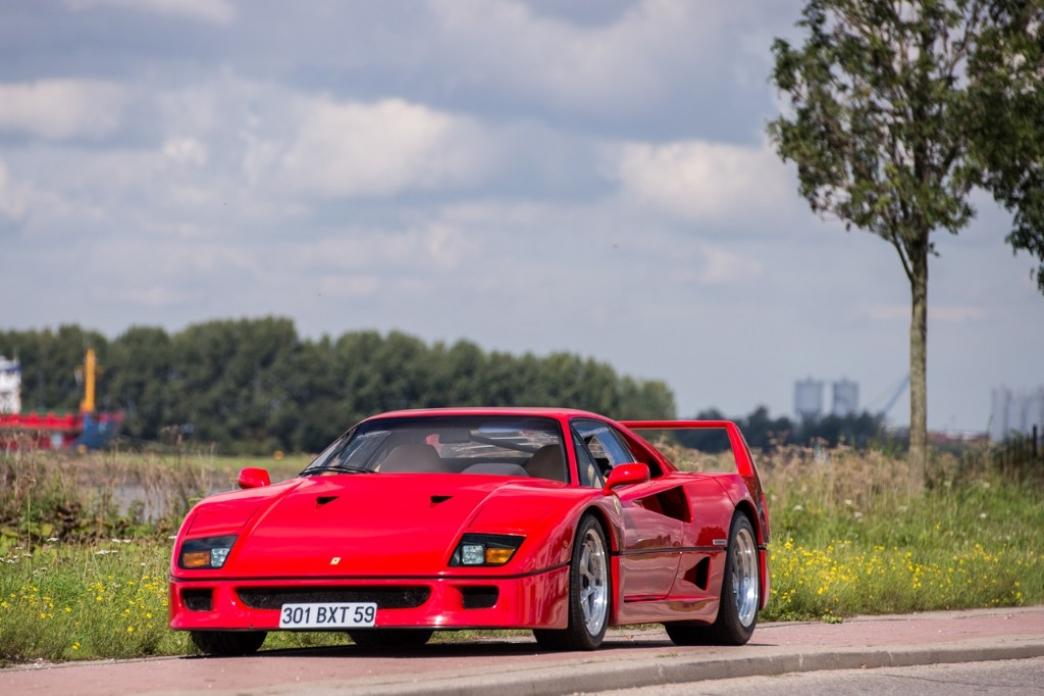 Un Ferrari F40 perteneciente a Nigel Mansell, vendido por 690.000 euros