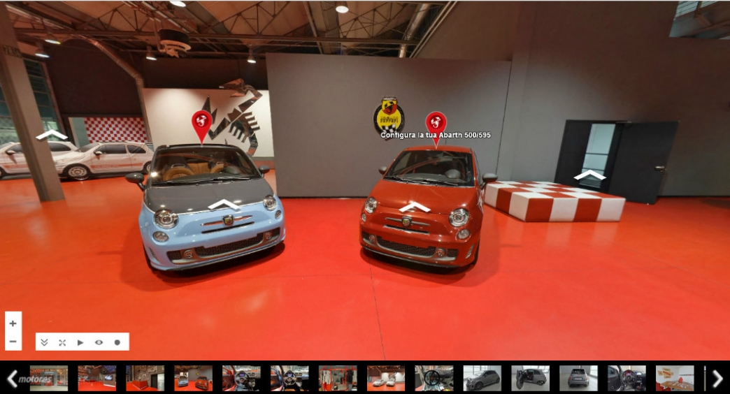Visita la sede de Abarth en un Tour virtual