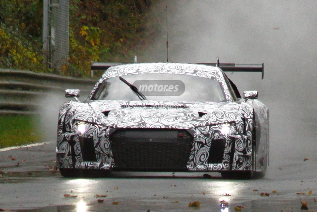 2015 Audi R8 LMS Ultra espiado en Nürburgring