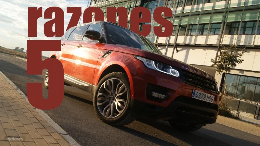 5 razones para amar al Range Rover Sport