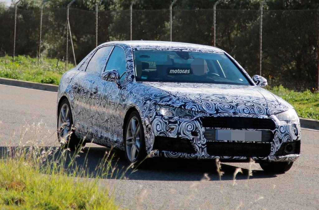 Audi A4 2016, primeras fotos espía