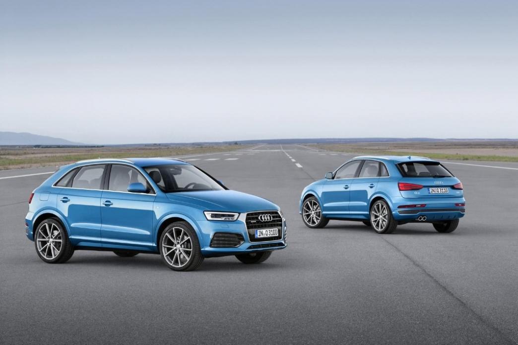 Audi Q3 2015, estrenando restyling con nuevo diseño y menores consumos