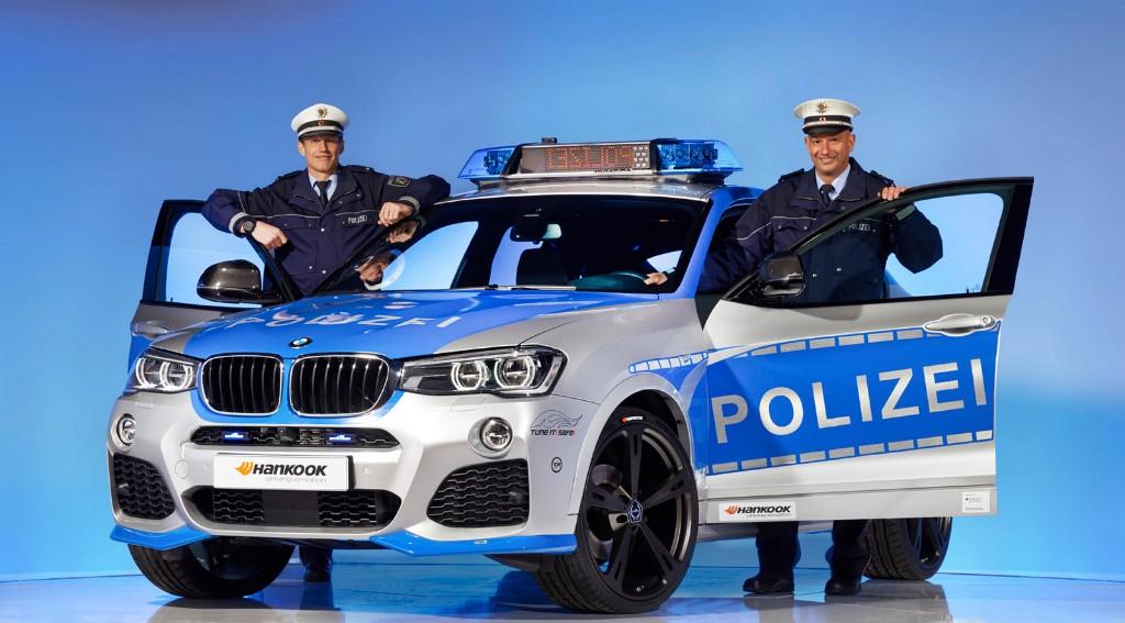 BMW X4 para la policía de la mano de AC Schnitzer
