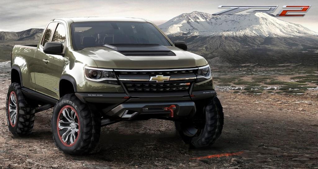 Chevrolet Colorado ZR2 Concept, estrenando el motor diésel 2.8 Duramax