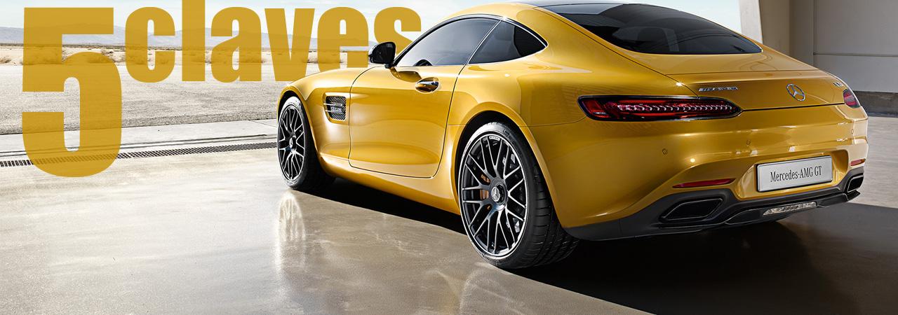 Cinco claves del Mercedes AMG GT: por qué se convertirá en uno de tus deportivos favoritos