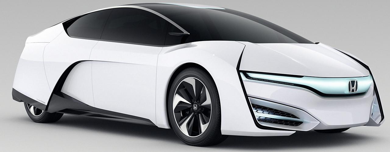 Honda FCV Concept, un nuevo paso de Honda en el uso del hidrógeno