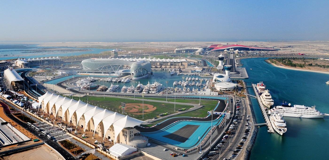 Horarios del GP de Abu Dabi F1 2014 y datos del circuito de Yas Marina