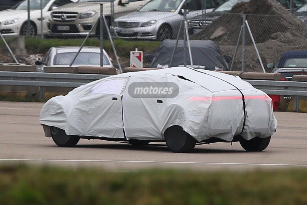 El coche autónomo de Mercedes-Benz avistado durante pruebas