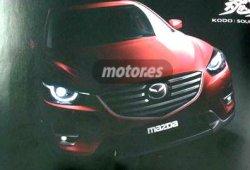 2015 Mazda CX-5 desvelado antes de su debut en Los Ángeles
