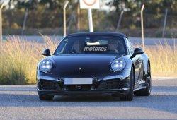 2015 Porsche 911 Targa descubierto con detalles interesantes