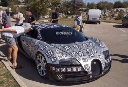 Bugatti Veyron/Chiron 2016, pillado de pruebas en España