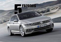 5 razones para comprar el Volkswagen Passat 2015
