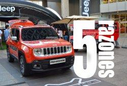5 razones para disfrutar del diseño del Jeep Renegade