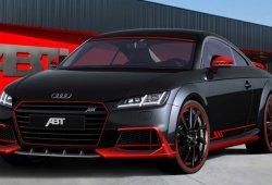ABT Audi TT 2015, negro y rojo para no pasar desapercibido