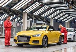 Audi comienza la producción del TT Roadster en Hungría