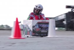 Crazy Cart Gymkhana 2, Ken Box parodia a Ken Block