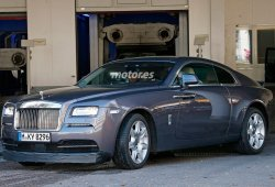Descubierto el Rolls Royce Wraith Sport sin camuflaje