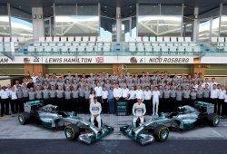El 'campeonísimo' Mercedes: una temporada de récords