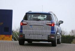 El Ford Ecosport 2015 perderá la rueda de repuesto exterior