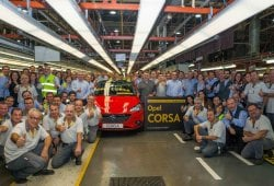 El nuevo Opel Corsa inicia su producción en Figueruelas