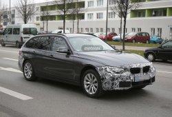 El BMW Serie 3 2015 berlina y Touring siguen preparando su restyling