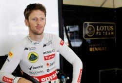 Grosjean seguirá en Lotus en 2015