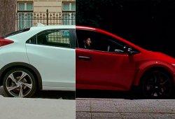 Ingeniosa y sorprendente campaña de publicidad del Honda Civic