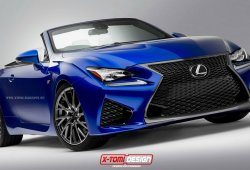 Lexus RC F Convertible confirmado durante evento interno